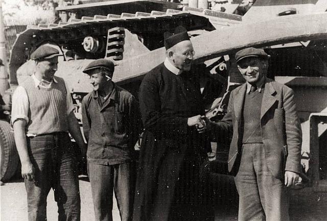 Rektor Svaté Hory Josef Hynek v roce 1947. Komunistický režim ho věznil deset let