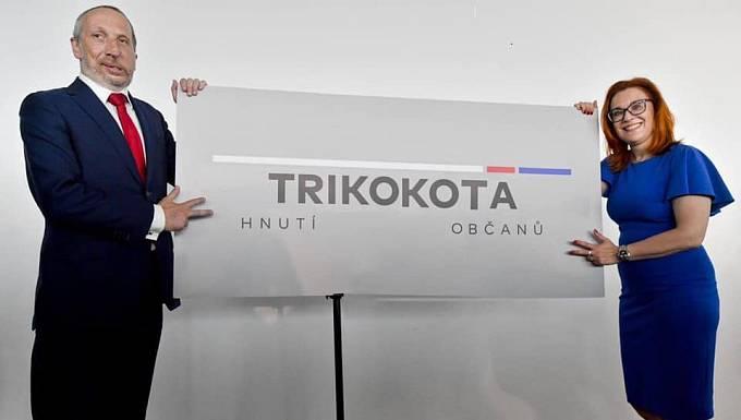 Logo Trikolóry se okamžitě dočkalo svérázných úprav