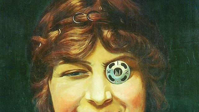 Obrázek Miss KIN od Františka Kupky se stal slavným emblémem patentek značky Koh-i-noor.
