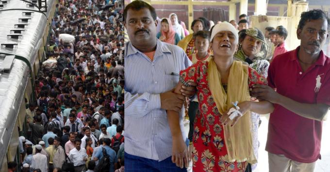 Vlaky v Indii denně usmrtí 10 lidí.