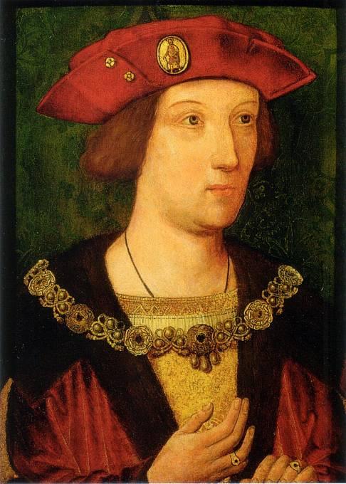 Jednou z obětí anglického potu byl zřejmě i Arthur, princ z Walesu.