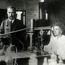 Pierre a Marie Curie