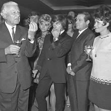 Jiřina Bohdalová a Ludvík Svoboda (1968–1975)
