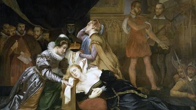 Poprava Marie Stuartovny
