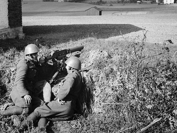 Českoslovenští vojáci bránili pohraničí před terorem
