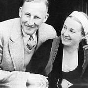Heydrich s manželkou Linou