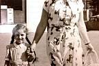 Anka Nathanová s dcerou Evou