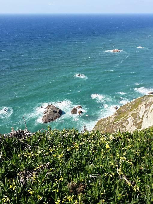 Nejzápadnější cíp Evropy, mys Cabo de Roca