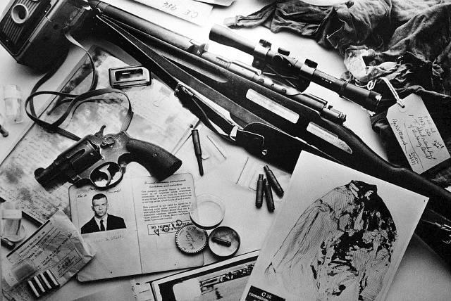Nalezený arzenál zbraní