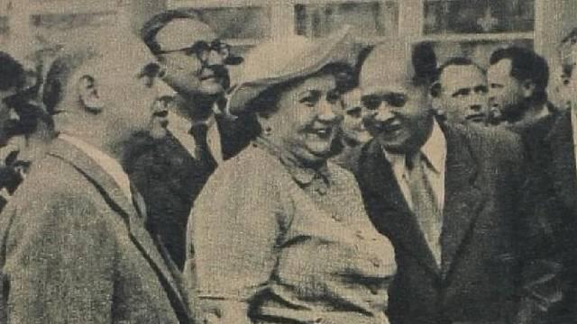 Marta Gottwaldová nebyla nikdy jako první dáma přijata