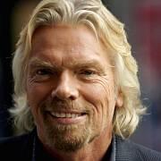 Britský miliardář Richard Branson