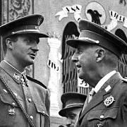 Francisco Franco a budoucí král Juan Carlos I. (rok 1966)
