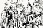 Podle legendy Galvarino ani nemrkl, když mu v oblasti zápěstí odstranili ruku