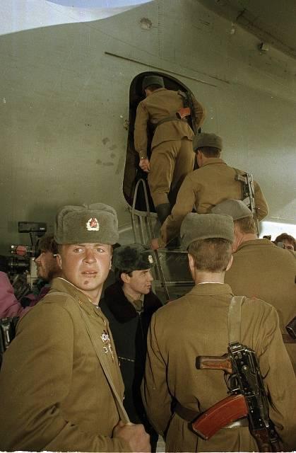 Odchod Sovětů z Afghánistánu, únor 1989
