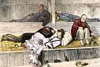 Opiové doupě v 19. století ve Spojených státech