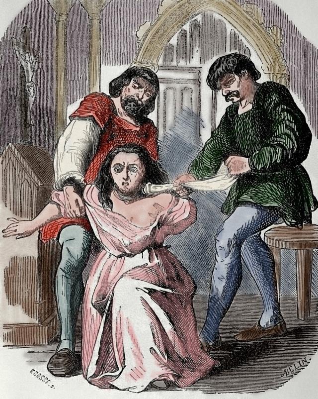 Nevěrná Margaret dožila svůj život ve věži.