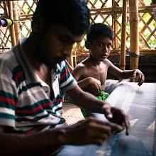 Práce v bangladéšských textilkách je považována za moderní otroctví