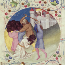 Obraz Umučení svatého Mořice, původem rovněž z Čech