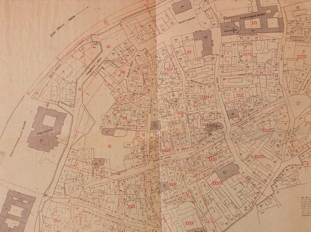 Plán asanace pražského Židovského města zkonce 19.století