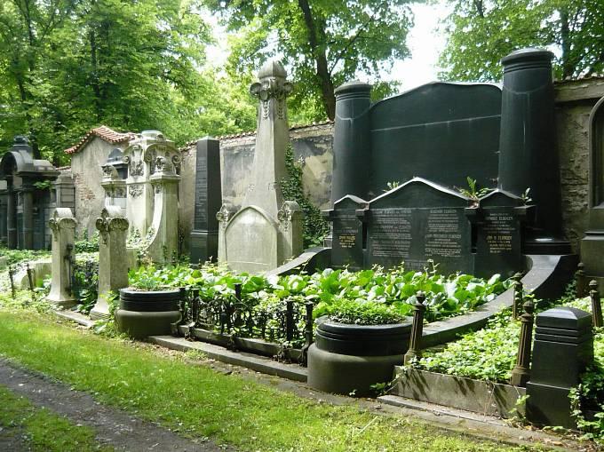 Elbogenova hrobka na Novém židovském hřbitově vPraze (1901–1902)