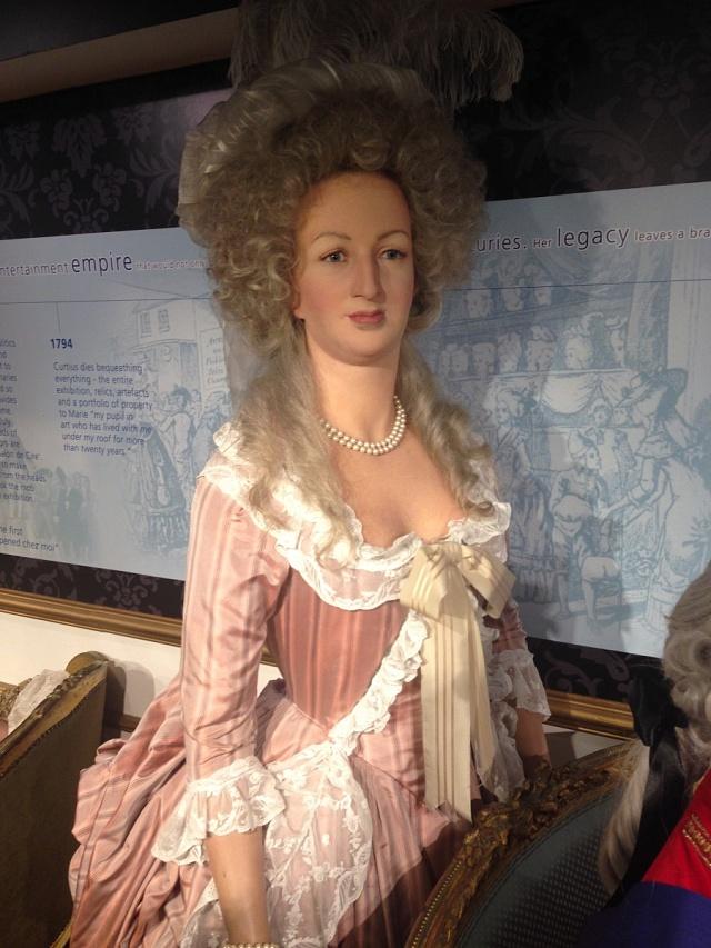 Marie Antoinette vlondýnském muzeu Madam Tussaud