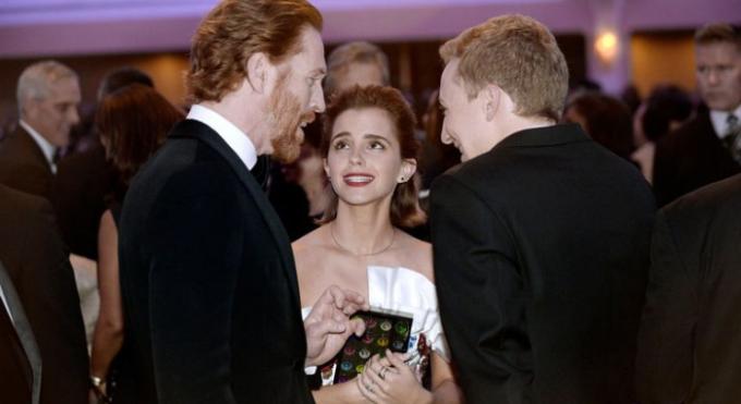 Akce se pravdielně účastní celebrity. Na snímku Emma Watsonová.