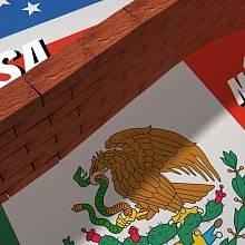 Stavba zdi na hranici USA a Mexika je symbolem protiimigrační politiky Donalda Trumpa.