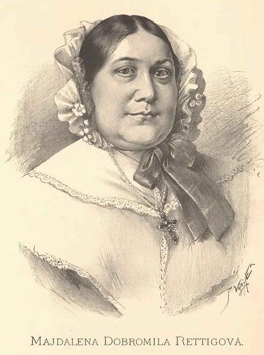 Magdalena Dobromila Rettigová od Jana Vilímka