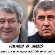Nejvíc memů vyvolalo spojení Andreje Babiše a Vojtěcha Filipa, registrovaných jako aktivní spolupracovníci Státní bezpečnosti