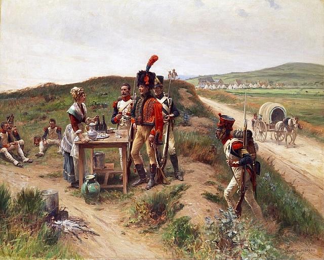 Markytánka vNapoleonově armádě