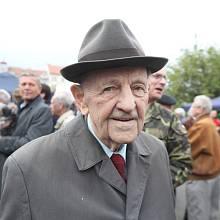 Miloš Jakeš v roce 2019