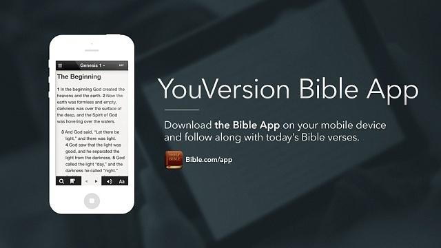 Aplikace YouVersion