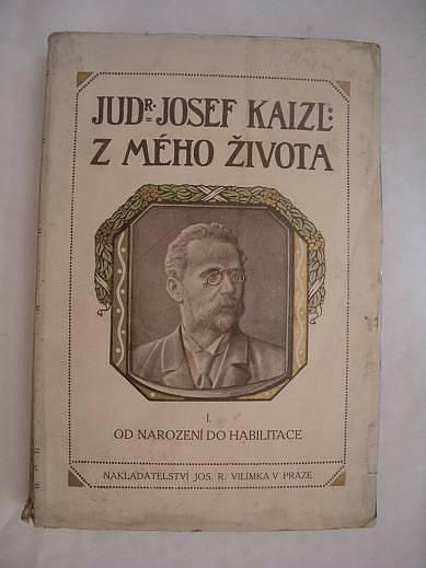 Titulní stránka Kaizlových memoárů Z mého života