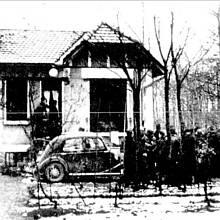 Vila v Sain Cloud, kde docházelo k vraždám
