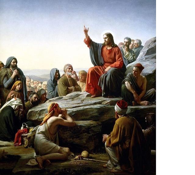 Ježíšovo kázání, autor: Carl Bloch