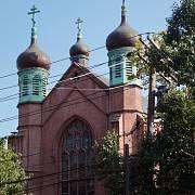 Kostel pravoslavných křesťanů v New Yorku
