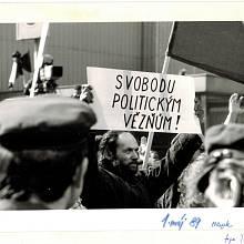 1. máj 1989 - Svoboda politickým vězňům