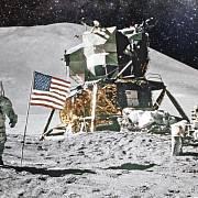 Přistání na Měsíci dodnes nevěří pětina Američanů.