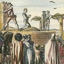 Někdy se do kola vplétali i mrtví odsouzenci popravení stětím.