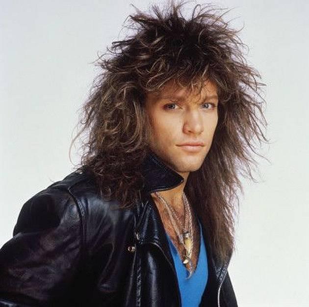 Bon Jovi a jeho hříva
