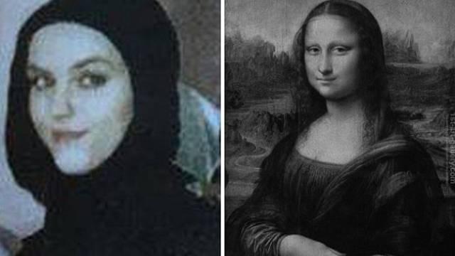 Hledaná Walentina Slobodjanuk zaujala úsměvem Mony Lisy