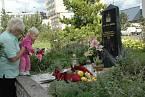 Hrob zastřeleného policisty Romana Jedličky