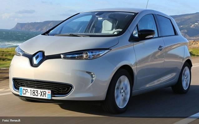 Renault Zoe má rychlonabíjecí baterii.