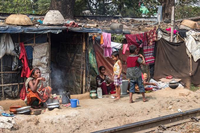 Jak se žije ve slumu. Dháka.