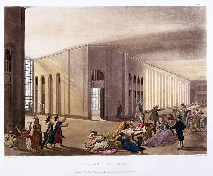 Pacientky ústavu v Londýně