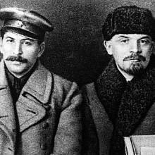 Stalin a Lenin bývali spojenci.