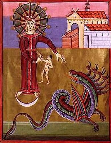 Žena s drakem, Bamberská apokalypsa