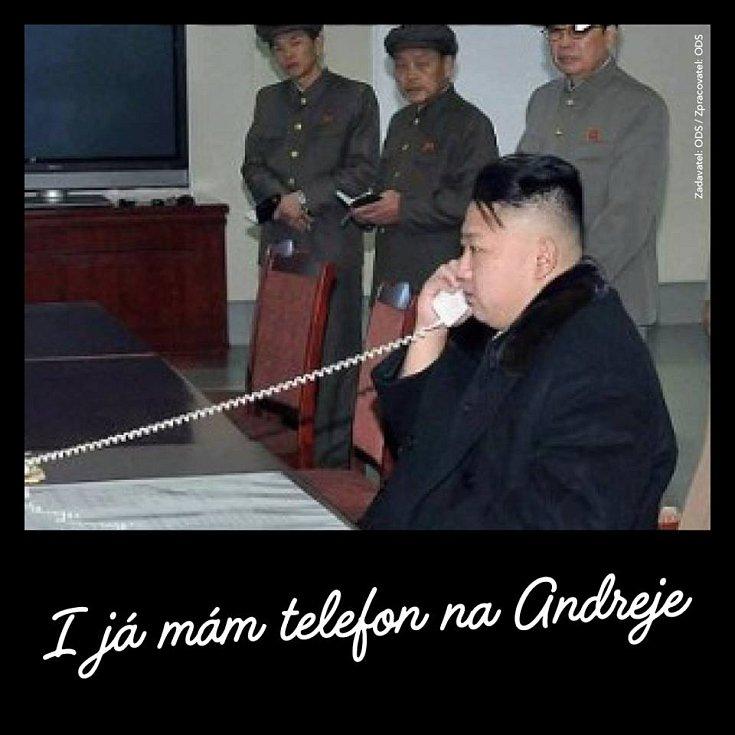 Ani Kim Čong-un nechybí