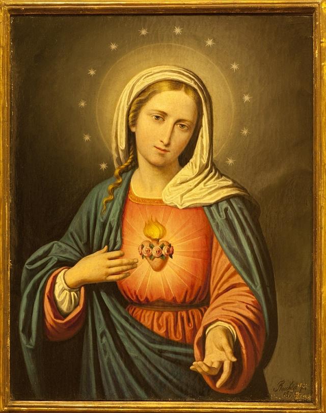 Panna Maria se prý narodila bez prvotního hříchu.