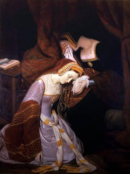 Anna Boleynová nákazu přežila.